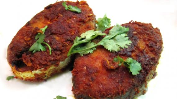 Herbal Fish Fry Recipe In Urdu