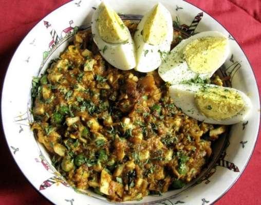 Karahi Keema Anday Wala Recipe In Urdu