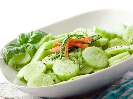 Dahi Aur Kheeray Ka Salad Recipe In Urdu