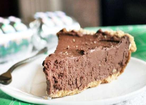 Baked Chocolate Fudge With Cream Recipe In Urdu