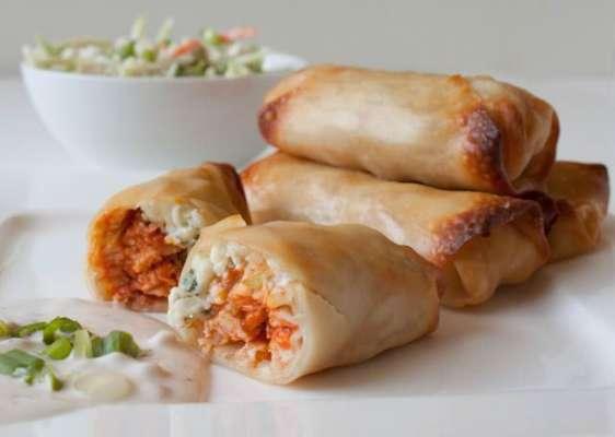 Spicy Chatni Bhare Roll Recipe In Urdu