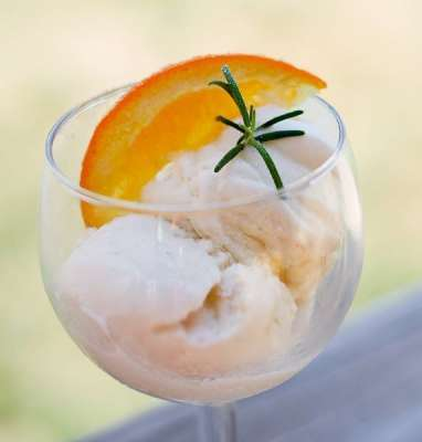 Orange And Honey Ice Cream Recipe In Urdu