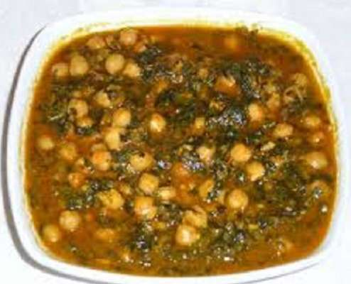 Palak Chole Recipe In Urdu