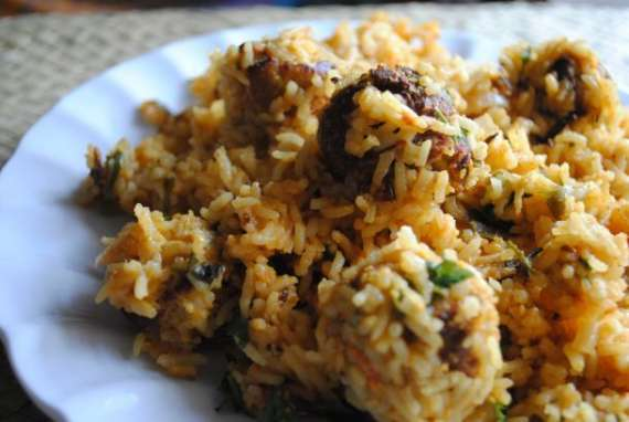 Kofta Pulao Recipe In Urdu