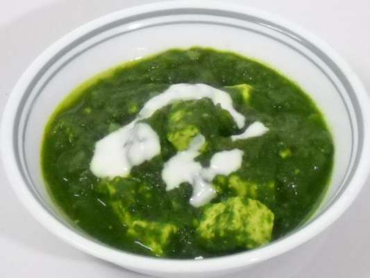 Paneer Aur Palak  Recipe In Urdu