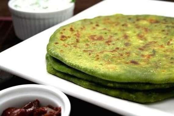 Paratha Palak Recipe In Urdu