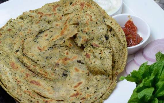 Podinay Ki Roti Recipe In Urdu
