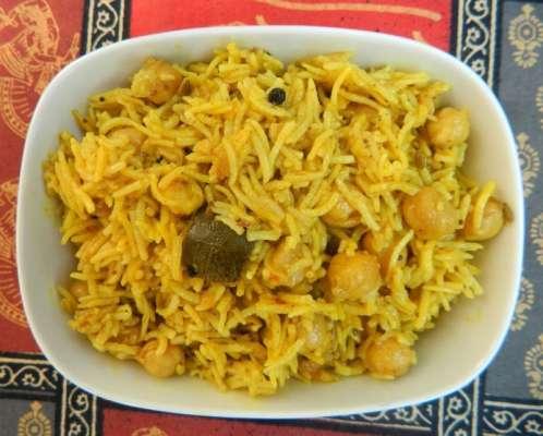 Chana Pulao Achari Recipe In Urdu