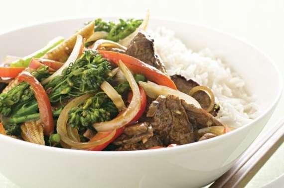 Vegetable And Beef Stir Fry Recipe In Urdu