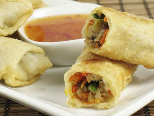 Band Gobi Kay Roll Khatay Meethay Tomato Sauce Kay Saath Recipe In Urdu