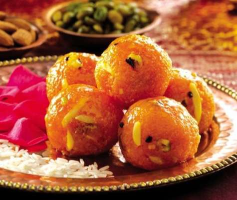 Ladoo Motichoor  Recipe In Urdu