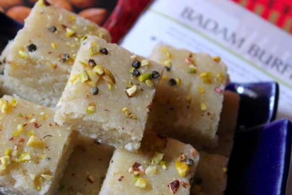 Badam Ki Mithai Recipe In Urdu