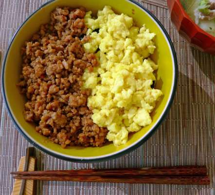 Soboro Rice Recipe In Urdu