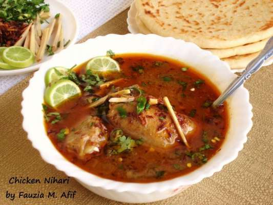 Chicken Nihari Recipe In Urdu