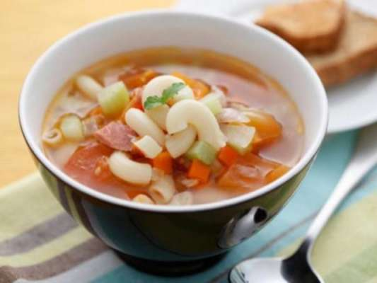 Macaroni Vegetable Soup Recipe In Urdu