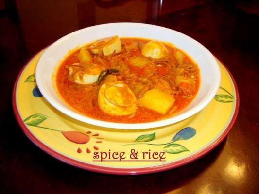 Aloo Anday Ka Salan Recipe In Urdu