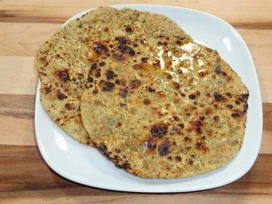Besan Ka Masalay Dar Paratha Recipe In Urdu