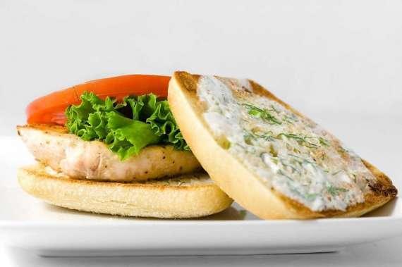 Dahi Chicken Sandwich Recipe In Urdu