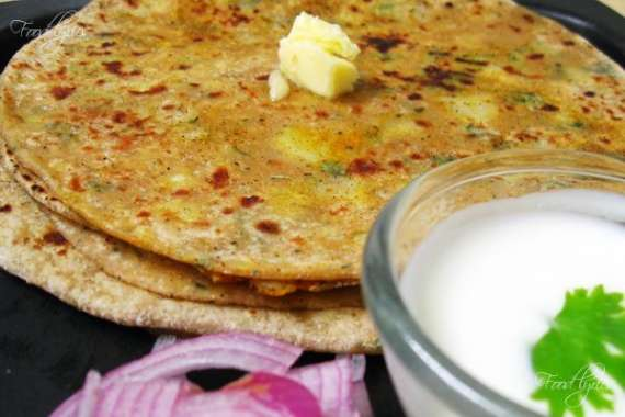 Aloo Bhara Paratha Recipe In Urdu