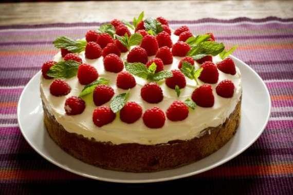 Raspberry Cake Recipe In Urdu