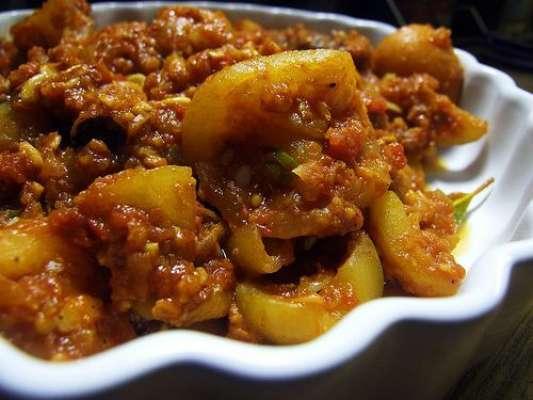 Tasty Tinday Gosht Recipe In Urdu