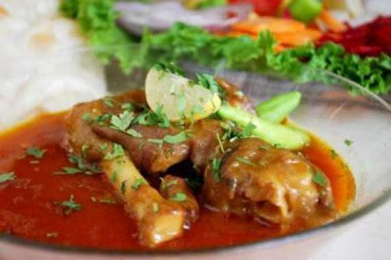 Mutton Pay Chholon Kay Sath Recipe In Urdu
