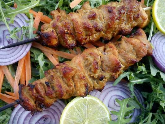 Kaleji Vegetable Seekh Kabab Recipe In Urdu