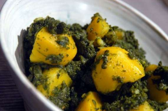 Aloo Aur Palak Ki Gnocchi Recipe In Urdu
