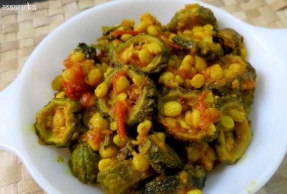 Chanay Ki Daal Aur Karela Recipe In Urdu