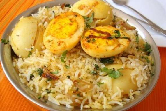 Anda Biryani Recipe In Urdu