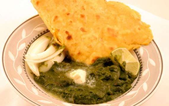 Saag Cholai Recipe In Urdu