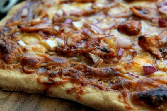 Chicken Barbecue Pizza Recipe In Urdu