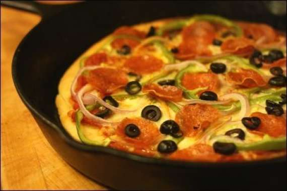Frying Pan Pizza Recipe In Urdu