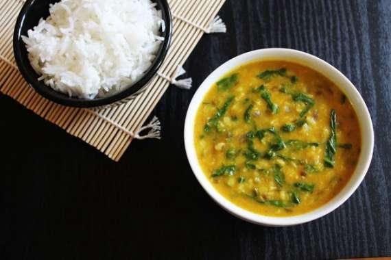 Ister Fried Daal Palak Kay Saath Recipe In Urdu