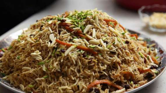 Hyderabadi Kabuli Biryani Recipe In Urdu