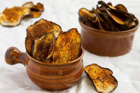 Eggplant Chips Recipe In Urdu