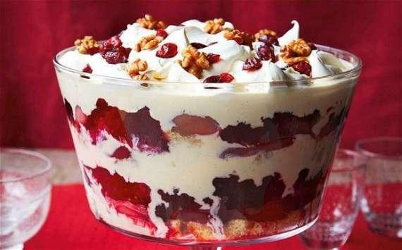 Zurb Trifle   Recipe In Urdu