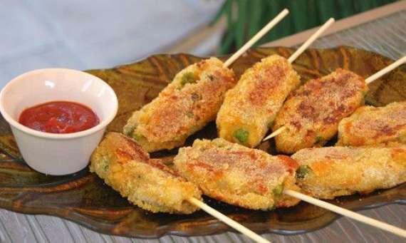 Potato Slice Kabab Recipe In Urdu