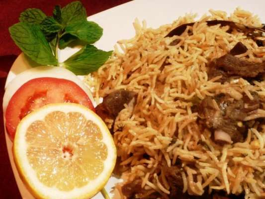 Lasani Pulao Recipe In Urdu