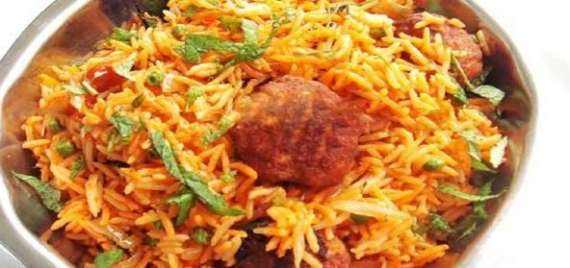 Arab Kofta Pulao Recipe In Urdu