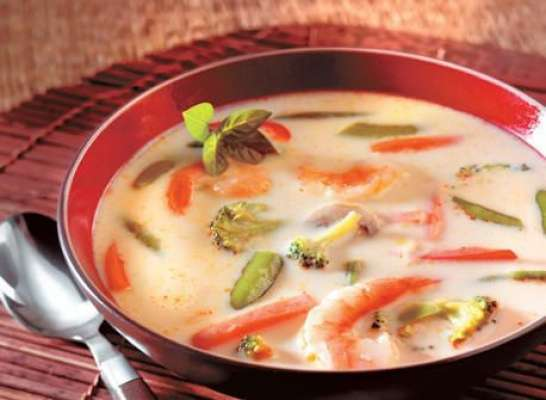 Milk Vegetable Soup Recipe In Urdu