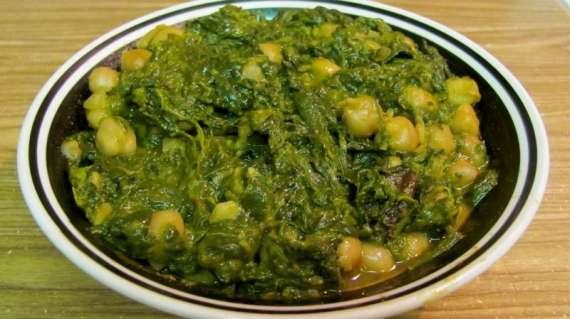 Mooli Palak Recipe In Urdu