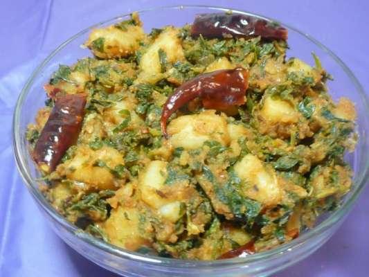 Machli Aur Aloo Methi Recipe In Urdu