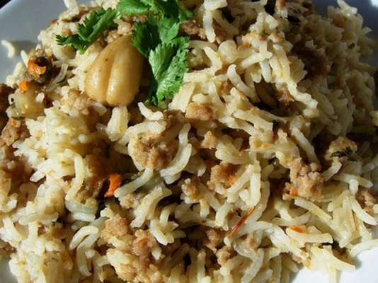 Keema Pulao Recipe In Urdu