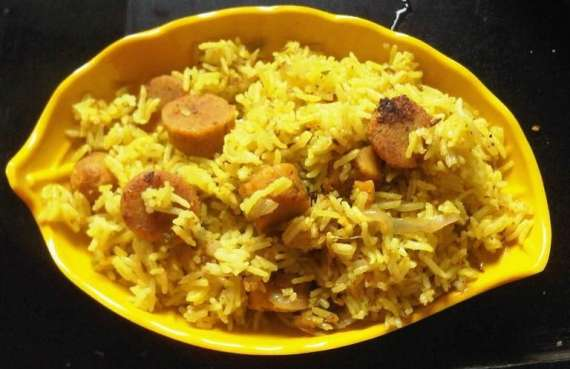 Badam Pulao Recipe In Urdu