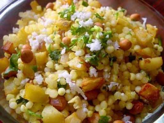 Sabudana Recipe In Urdu