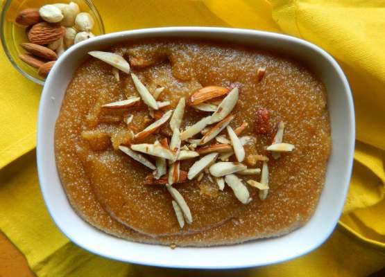 Double Roti Halwa Recipe In Urdu