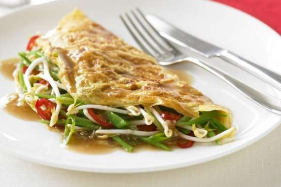 Omelette Chinese  Recipe In Urdu