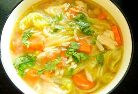 Chicken Matar Noodles Recipe In Urdu