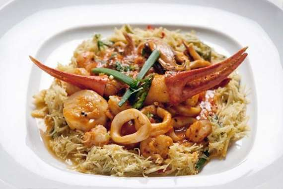 Prawns Noodles Recipe In Urdu